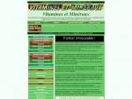 Vitamines et minéraux, oligo-éléments et assimilés